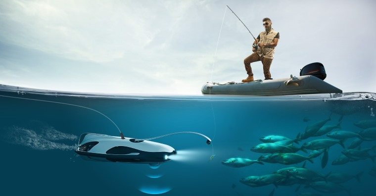 Powerray, drone acuático