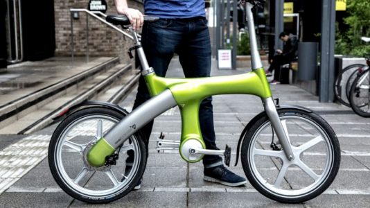 6 increíbles bicicletas eléctricas plegables