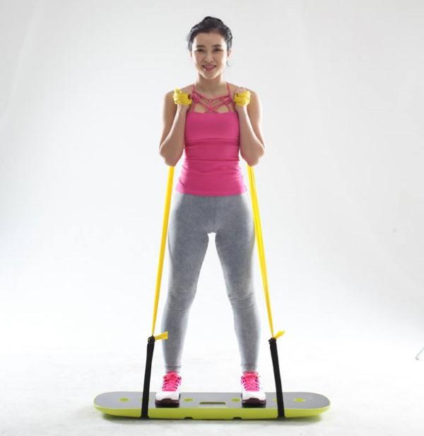 Buff-Up, tabla de entrenamiento para equilibrio y fuerza