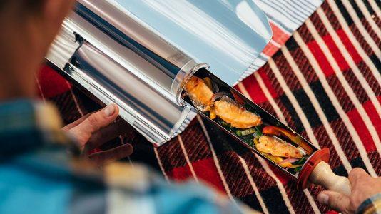 GoSun, horno solar para acampar