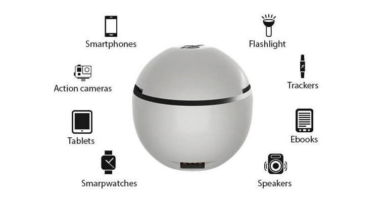 HandEnergy, cargador portatil que se carga con el movimiento de tu mano
