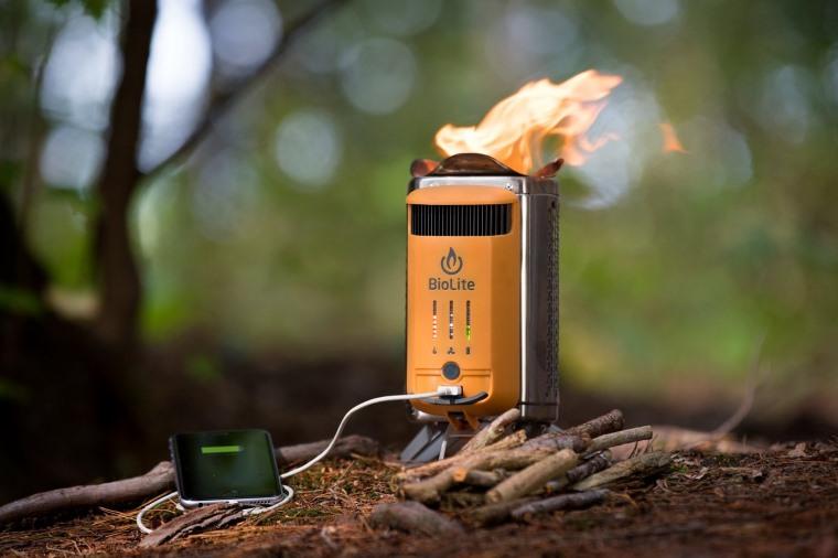 CampStove 2, estufa portatil que genera electricidad