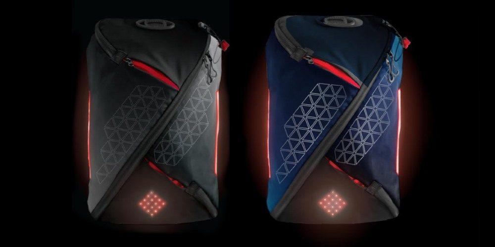 Lumos Aster, mochila con luces para ciclismo