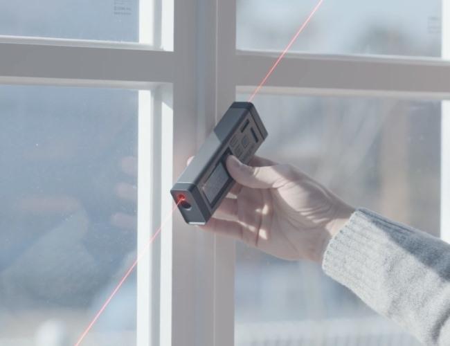 Medidor de distancia laser bilateral