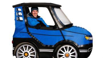 PodRide, vehiculo hibrido de bicicleta y coche