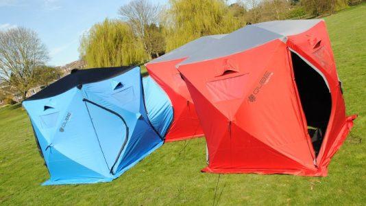 Qube Tents, Tiendas de campaña interconectadas