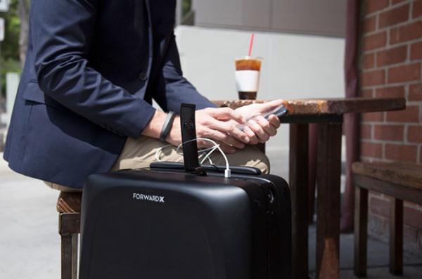 Detalles de la maleta inteligente Ovis