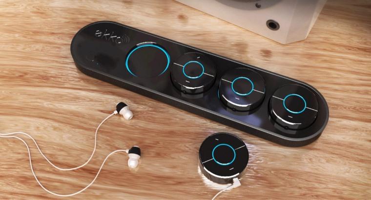 Hub de audio para auriculares y altavoces