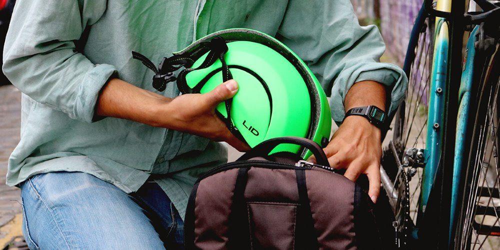 LID, casco plegable de ciclismo