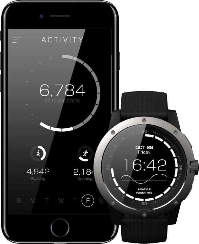 MATRIX PowerWatch, Smartwatch que no necesita ser cargado