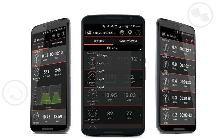 Monitorea actividad ciclismo