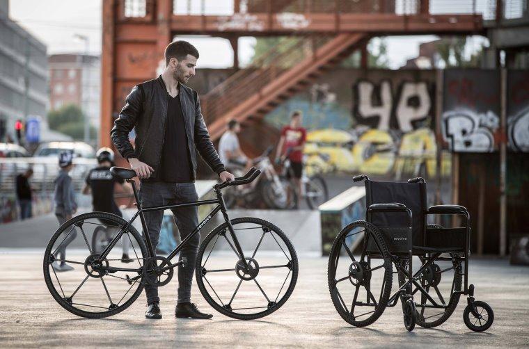 Neumático plegable de bicicleta y resistente a pinchazos