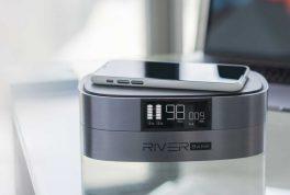 River Bank, banco de energia portatil
