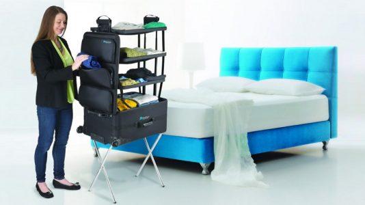 ShelfPack; la maleta para los viajes largos