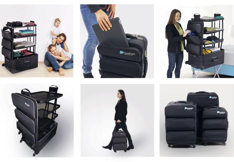 ShelfPack. la maleta con estantes
