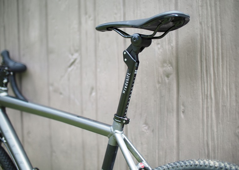 Tija de sillin para bicicleta con suspension