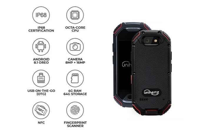 Caracteristicas del smartphone rugerizado Atom