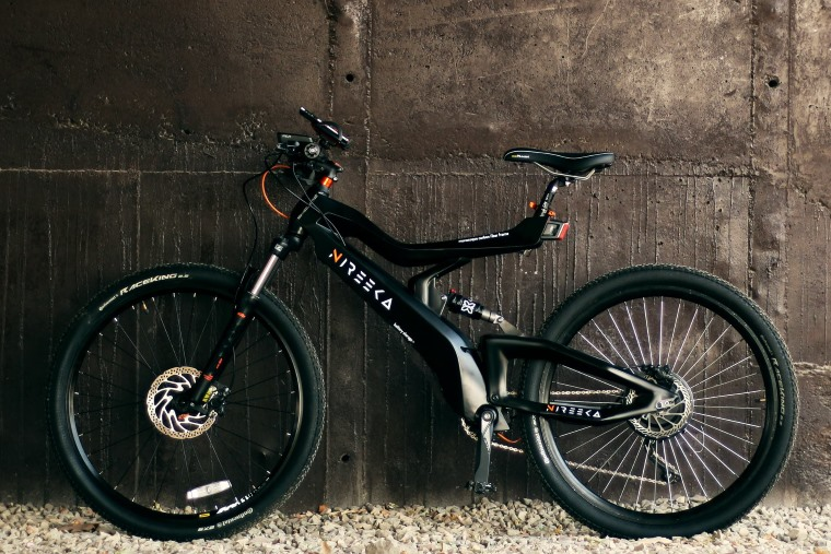 Detalles de la bicicleta electrica Nireeka