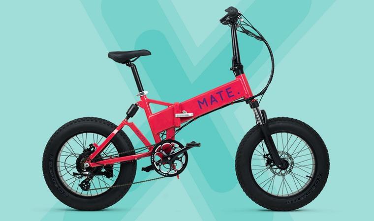 Detalles de la bicicleta electrica plegable MATE X