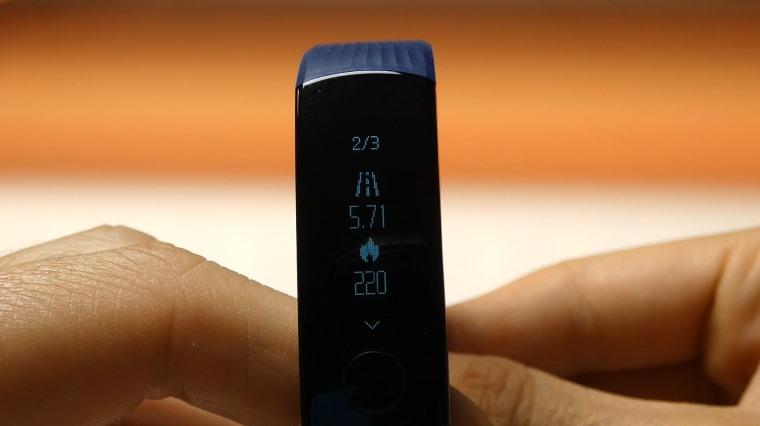 Pantalla de la Huawei Honor Band 3 Smartband