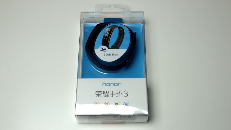 Unboxing de la Huawei Honor Band 3 Smartband