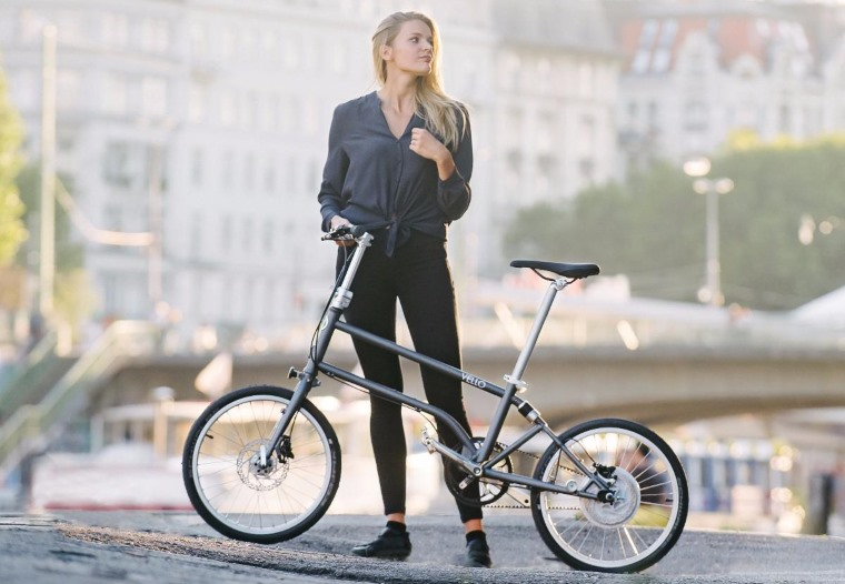 Bicicleta electrica plegable Vello Bike