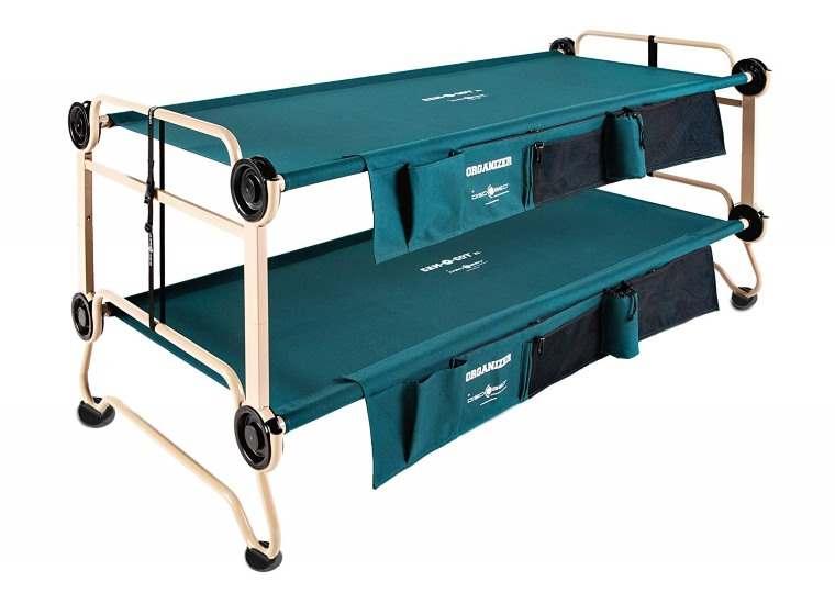 Disc-O-Bed, cama litera para camping