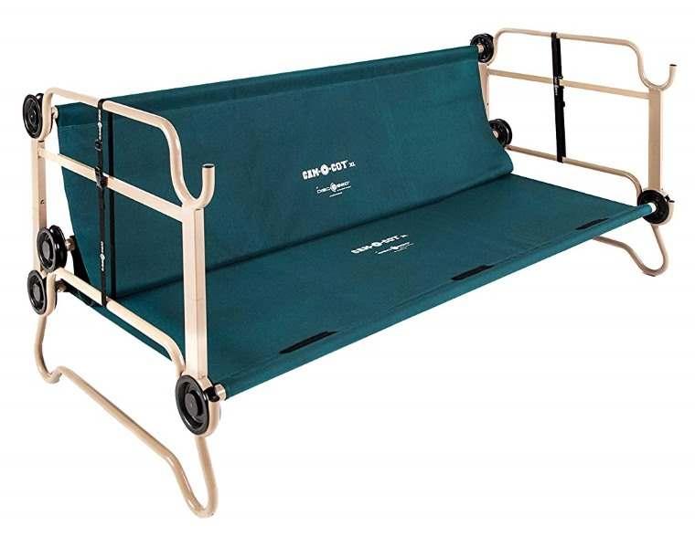 Disc-O-Bed, cama sofa para camping