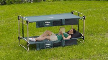 Disc-O-Bed, la mejor cama para camping
