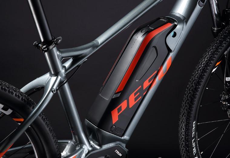 Especificaciones de la bici electrica de montaña PESU