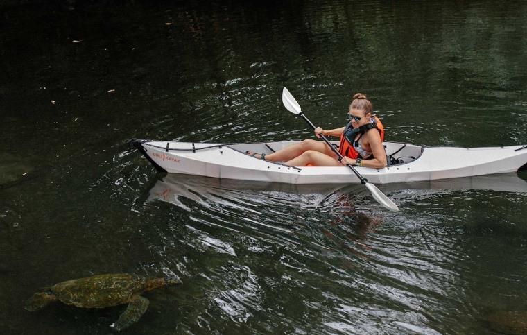 Kayak plegable