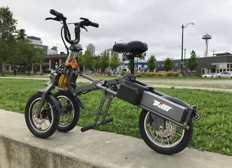 Mylo Electric Scooter, scooter plegable