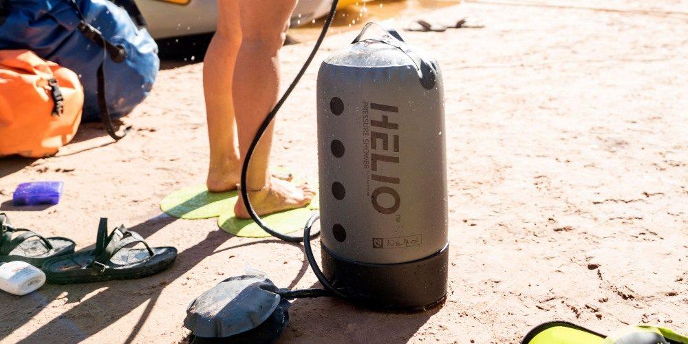 NEMO Helio, ducha portatil para acampar