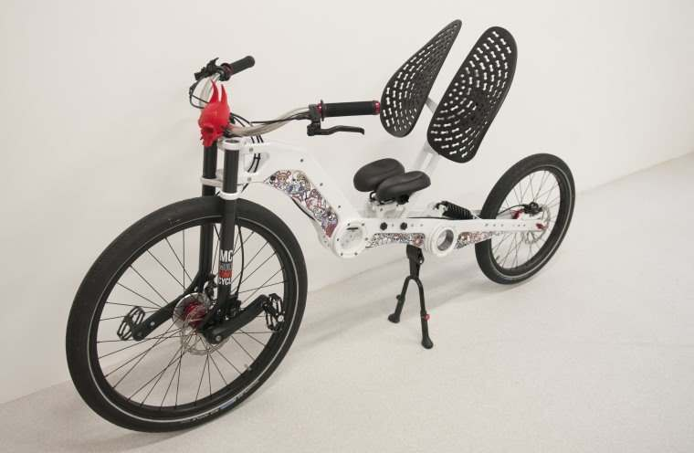 MC2 Chopper, bici reclinada