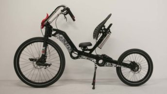 MC2 Chopper, bicicleta reclinada