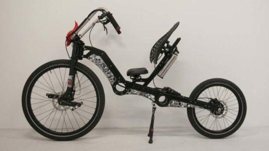 MC2 Chopper, bicicleta reclinada