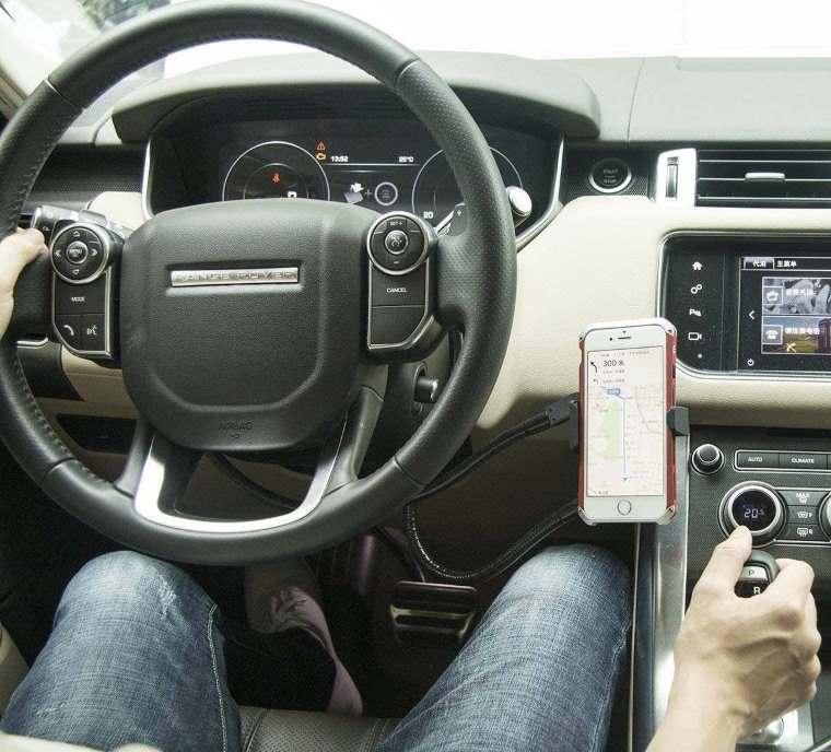 Soporte smartphone para el coche