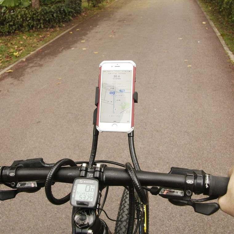 Soporte smartphone para la bicicleta