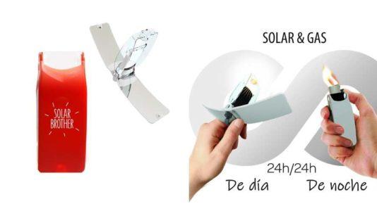 Suncase, encendedor solar