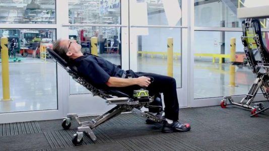 Human Hoist, silla mecanica