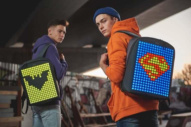 La mochila que puedes personalizar con animaciones