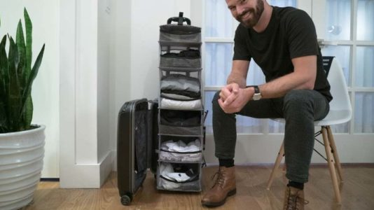 Lifepack, la maleta armario que ordena tu ropa