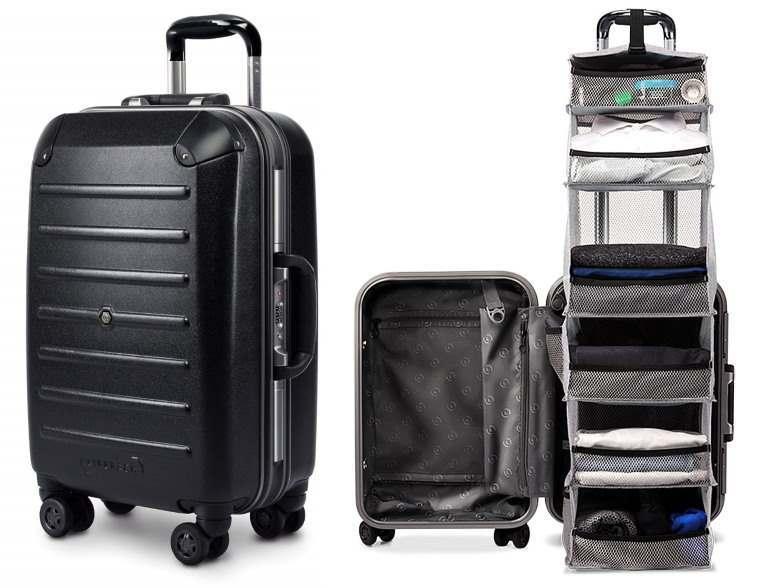 Lifepack, la maleta que organiza tu ropa por secciones