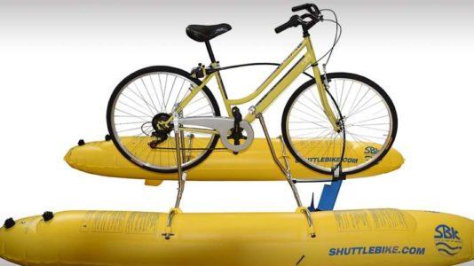 Shuttle Bike Kit, un kit para conviertir bici en acuatica