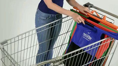 Trolley Bags, bolsas plegables