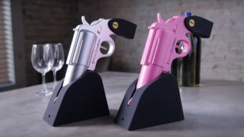Wine Gun, abridor de vino electrico