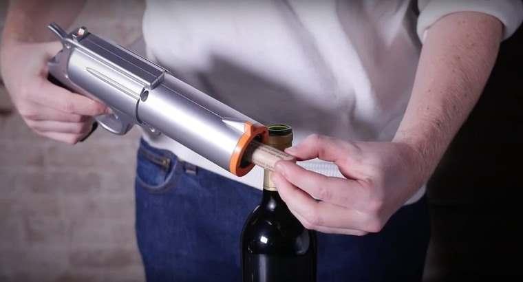 Wine Gun, abridor de vino