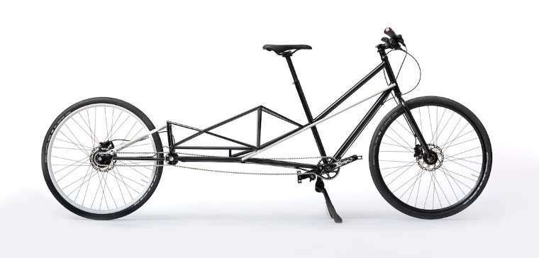 Convercycle, bicicleta eléctrica que puede convertirse en pocos segundos en una bicicleta de carga