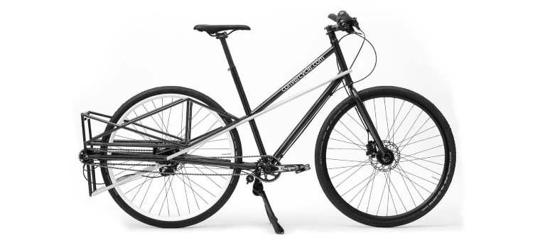 Convercycle, la ebike que se convierte en bicicleta para transportar cosas