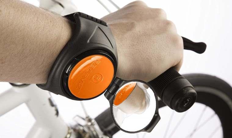 RearViz, retrovisor de brazo para ciclismo